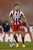 コンスタンティノス・マノラス(DF)|オリンピアコス|5試合2ゴール0アシスト (C)GettyImages