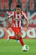 ハビエル・サビオラ(FW)|オリンピアコス|5試合2ゴール1アシスト (C)GettyImages