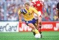 1位:トマス・ブロリン(FW):47試合・27得点[1990~1995年] |写真:Getty Images
